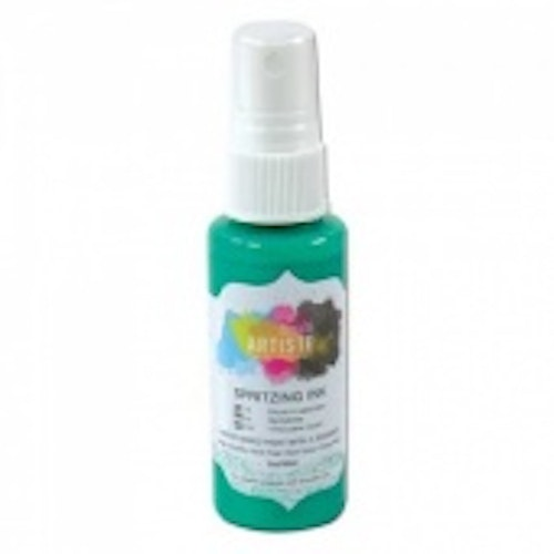 Docrafts Artiste Spritzing Ink - Mint
