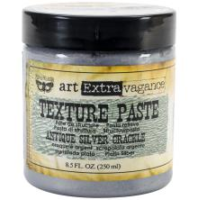Prima Finnabair Art Extravagance Texture Paste 250 ml - Antique Silver Crackle