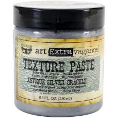 Prima Finnabair Art Extravagance Texture Paste 250 ml - Antique Silver Crackle
