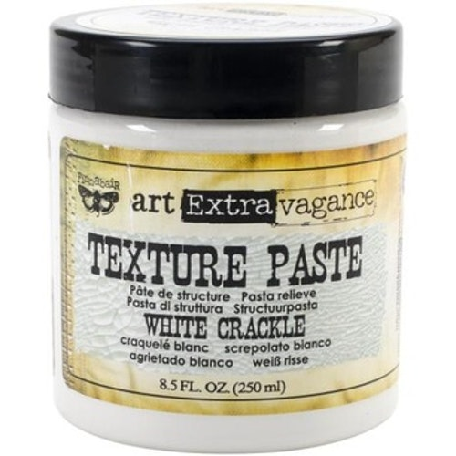 Prima Finnabair Art Extravagance Texture Paste 250ml - White Crackle