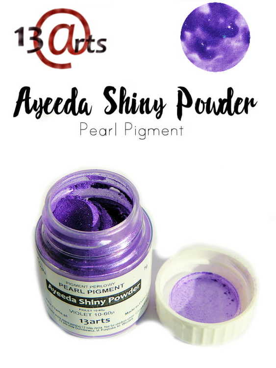 Ayeeda Shiny Powder Violet