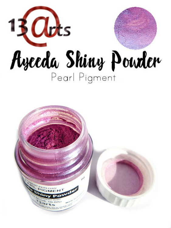 Ayeeda Shiny Powder Red Blue