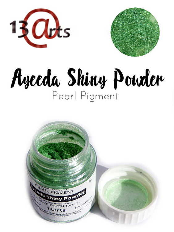 Ayeeda Shiny Powder Shimmer Green
