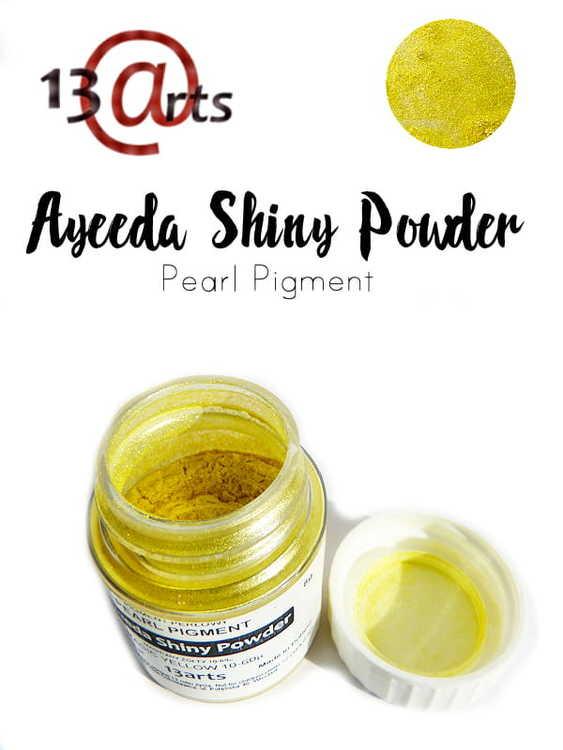 Ayeeda Shiny Powder Magic Yellow