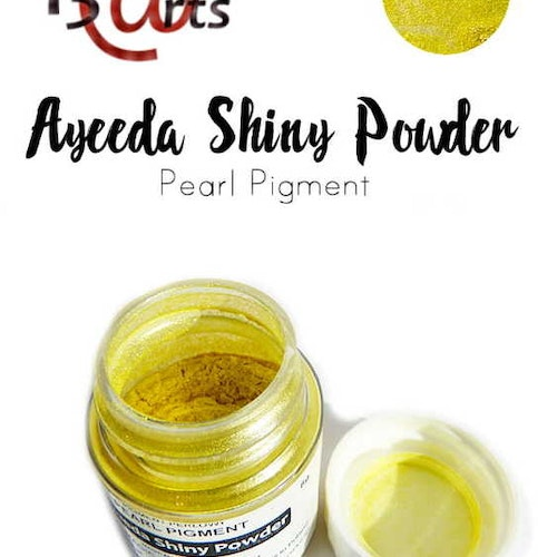 Ayeeda Shiny Powder Magic Yellow