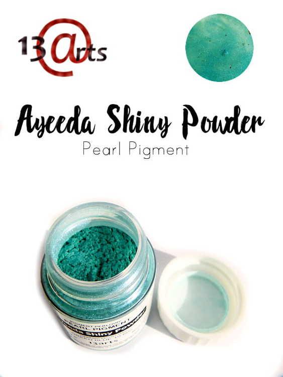 Ayeeda Shiny Powder Green Blue