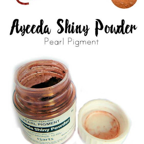 Ayeeda Shiny Powder Red Bronze
