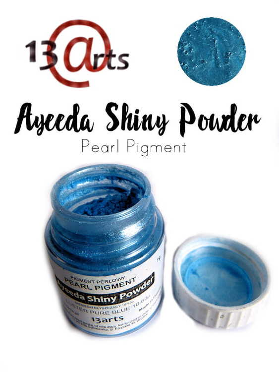 Ayeeda Shiny Powder Luster Blue