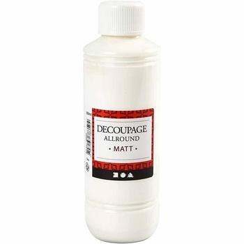 Decoupagelack, matt, 250 ml