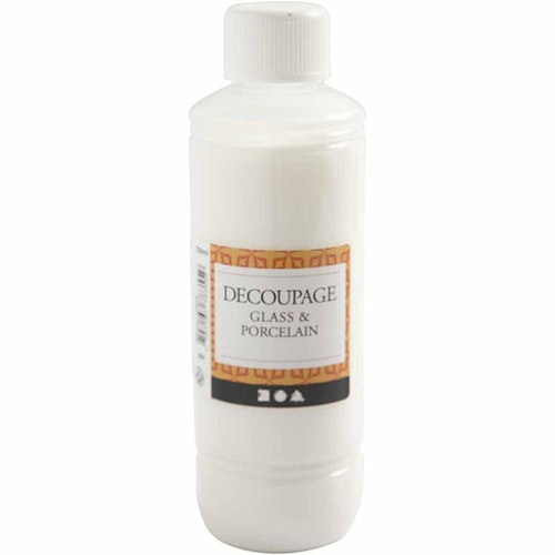 Decoupagelack, , Glas och porslin, 250ml