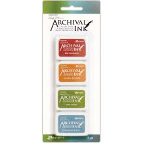 Ranger Ink Mini Archival Ink Pads - Kit#4 Wendy Vecchi