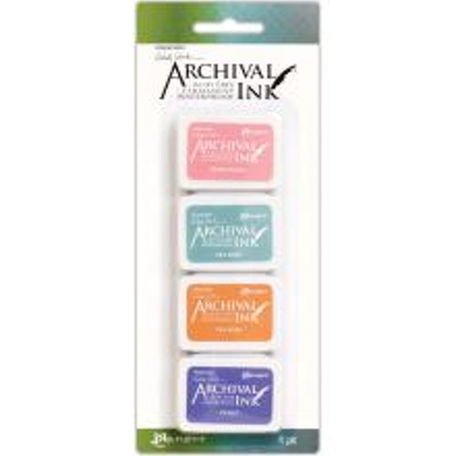 Ranger Ink Mini Archival Ink Pads - Kit#3 Wendy Vecchi
