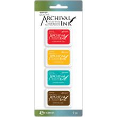 Ranger Ink Mini Archival Ink Pads - Kit#1 Wendy Vecchi