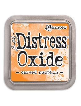 Distress oxide dyna, Carved pumpkin
