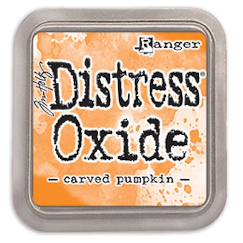 Distress oxide dyna, Carved pumpkin