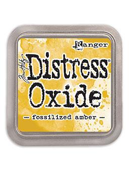 Distress oxide dyna, Fozzilized amber