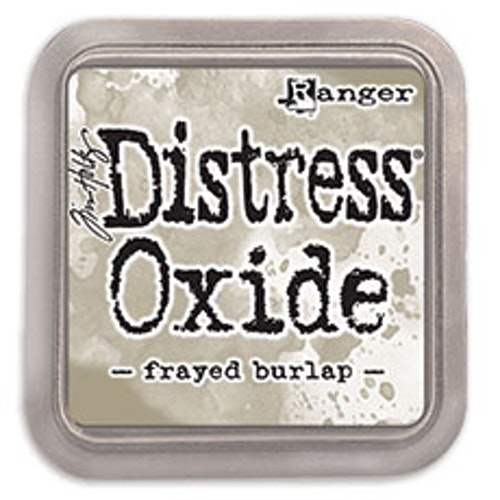 Distress oxide dyna, Frayed burlap