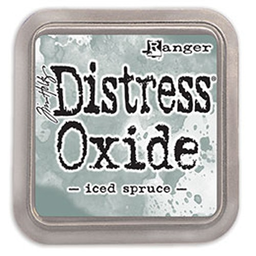 Distress oxide dyna, Iced spruce