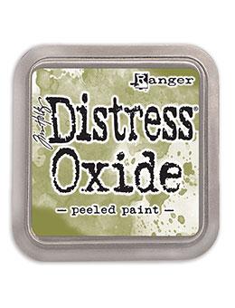 Distress oxide dyna, Peeled paint