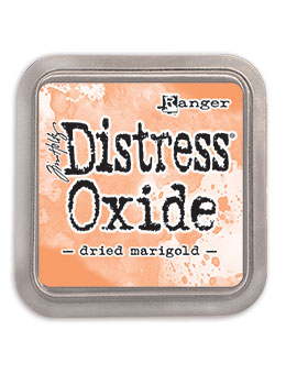 Distress oxide dyna, Dried marigold