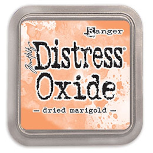 Distress oxide dyna, Dried marigold
