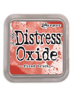 Distress oxide dyna, Fired brick