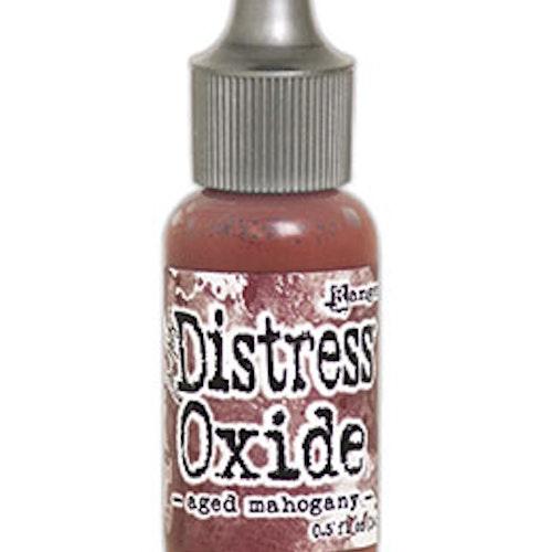 Distress oxide refill, Aged mahogany