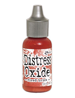 Distress oxide refill, Fired brick