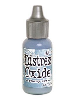 Distress oxide refill, Stormy sky