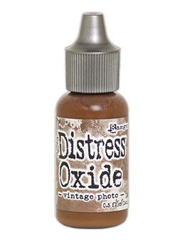Distress oxide refill, Vintage photo