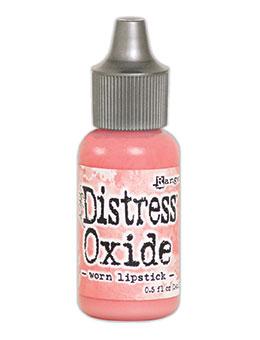 Distress oxide refill, Worn lipstick