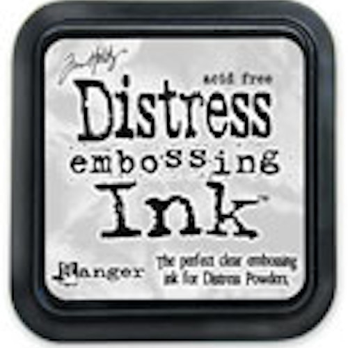 Distress ink pad, Embossing ink