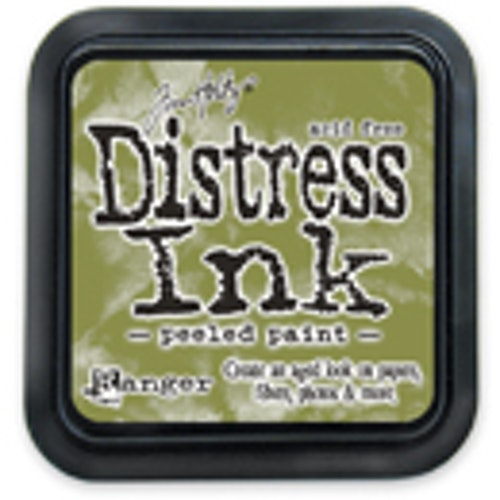 Distress ink pad, Peeled paint