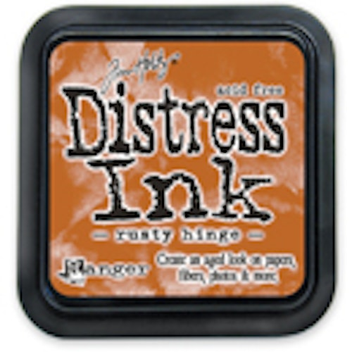 Distress ink pad, Rusty hinge