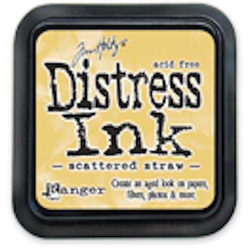 Distress ink pad, Scattered straw