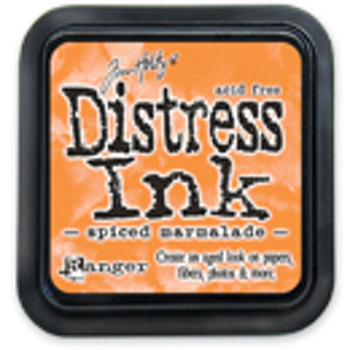 Distress ink pad, Spiced marmalade