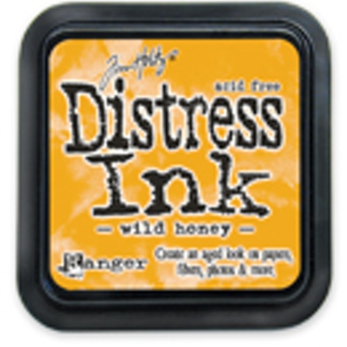 Distress ink pad, Wild honey