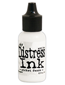 Distress ink refill, Picket fence