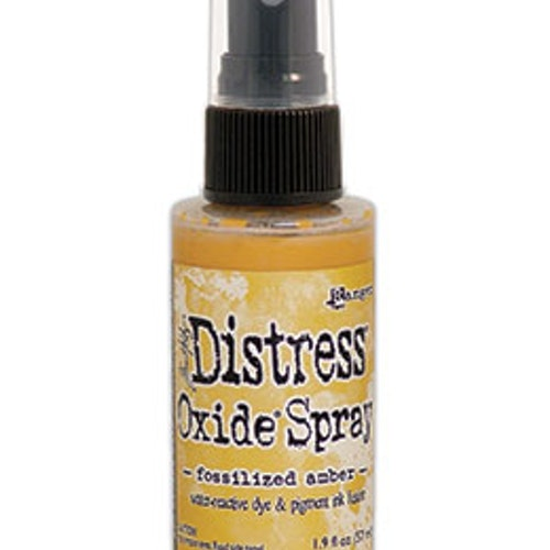 Tim Holtz Distress Oxide Spray 57ml - Fossilized amber