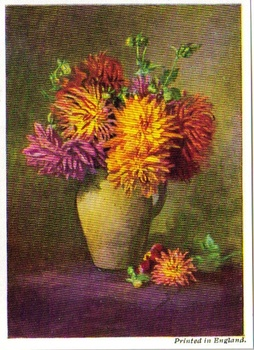 SB 030 Blommor i vas