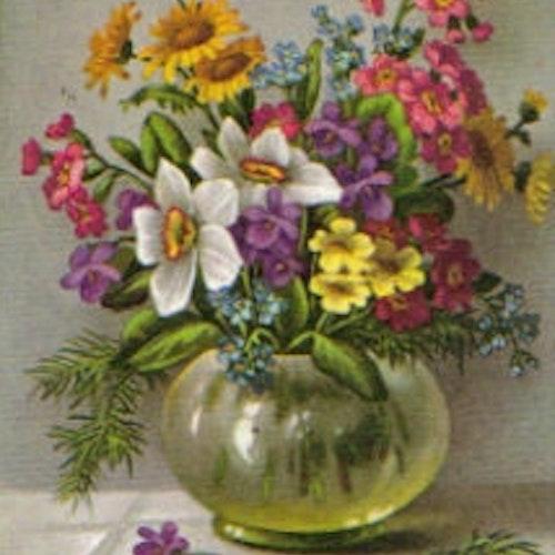 SB 070 Blomster i vas