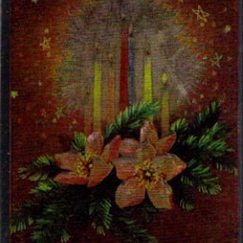 SB 072 Juleljus, folierad bild