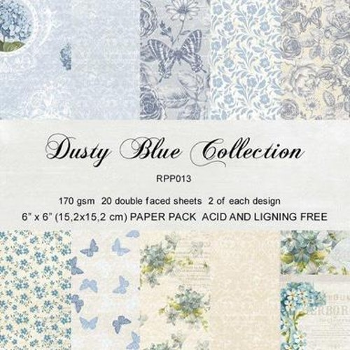 "REPRINT Paperpack ""Dusty Blue Collection"""