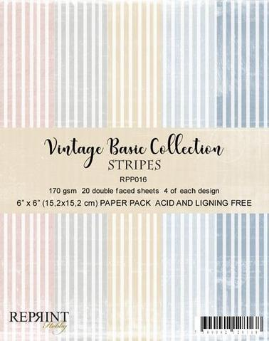 "REPRINT Paperpack ""Vintage Basic Collection - Lines"""
