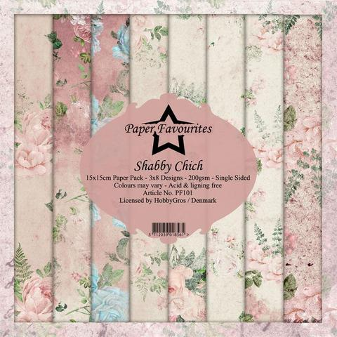 """Paper Favourites Paper Pack """"Shabby Chich"""""""