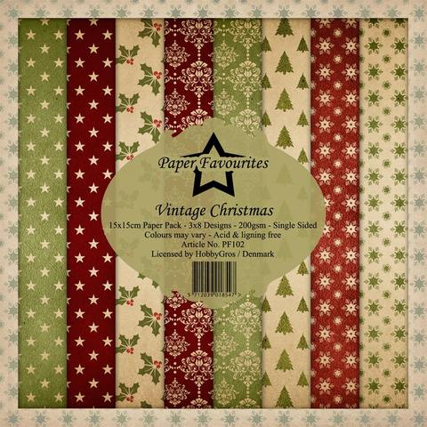 "Paper Favourites Paper Pack ""Vintage Christmas"""