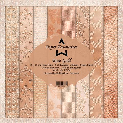 """Paper Favourites Paper Pack """"Rose Gold"""""""