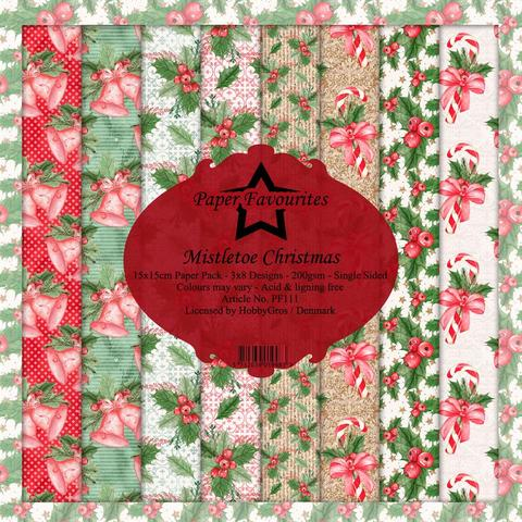"Paper Favourites Paper Pack ""Mistletoe Christmas"""