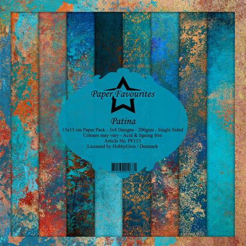 """Paper Favourites Paper Pack """"Patina"""""""