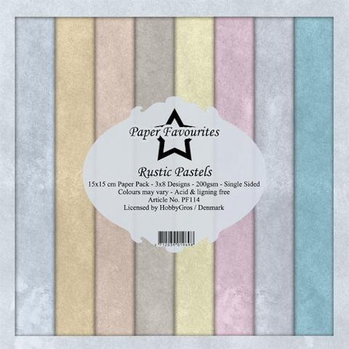 "Paper Favourites Paper Pack ""Rustic Pastels"""
